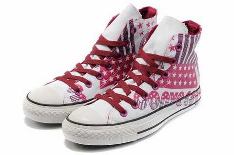 chaussure converse rose fluorescent,chaussure converse la ...
