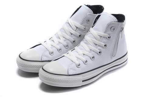 chaussure type converse femme