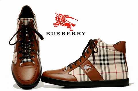pas cher Burberry Baskets Homme en ligne acheter Burberry